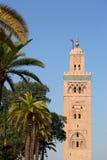 Koutoubia mosque Marrakesh Stock Photo