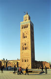Koutoubia Mosque, Marrakesh, Morocco Stock Images