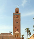 Koutoubia mosque in Marrakesh, Morocco Stock Image