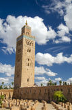 Marrakesh. Koutoubia Mosque, in Marrakesh Morocco Royalty Free Stock Images