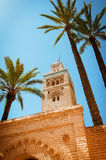 Koutoubia Mosque. In Marrakesh, Morocco Stock Images