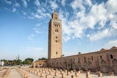 Koutoubia mosque in Marrakesh Stock Photos