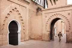 Koutoubia Mosque. Marrakesh . Morocco Stock Image