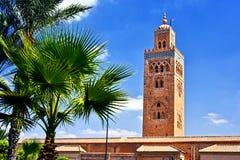 Koutoubia Mosque in the southwest medina quarter of Marrakesh Royalty Free Stock Image