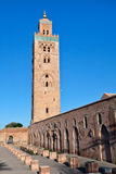 Koutoubia Mosque tower, Marrakesh, Morocco Royalty Free Stock Image