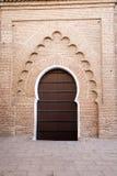 Koutoubia Tür Stockbild