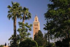 Koutoubiamoskee van Marrakech Stock Fotografie
