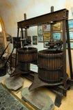 Koutsoyannopouloswijnmakerij en Wijnmuseum in Vothonas Royalty-vrije Stock Fotografie