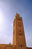 Koutubia mosque in Marakech Stock Photo