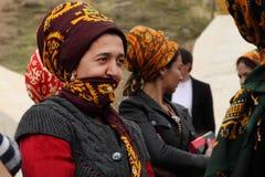 Kov-Ata,土库曼斯坦- 10月18 画象未认出  库存图片