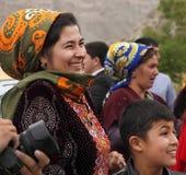 Kov-Ata,土库曼斯坦- 10月18 :画象未认出  库存照片