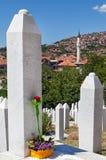 Kovaci cemetery Stock Photo