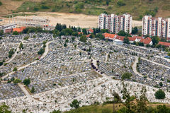 Kovaci cemetery Stock Photography