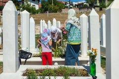Kovaci cemetery Stock Photos
