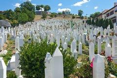 Kovaci cemetery Royalty Free Stock Photography