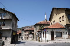 Kovaci, typical quarter of city Sarajevo Royalty Free Stock Photography