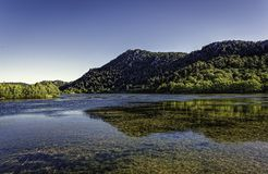 Kovada Lake National Park under blue clear skies Stock Photography