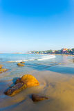 Kovalam Beach Beachfront Hotels Ocean V Stock Photo