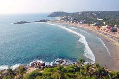 Kovalam Beach. In Kerala state,India royalty free stock photography