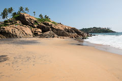 Kovalam Beach on a Sunny Day royalty free stock images