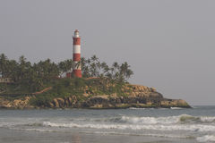 Kovalam Lighthouse, Kerala, India Stock Image