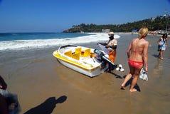Kovalam Overzees Strand van Kerala royalty-vrije stock foto