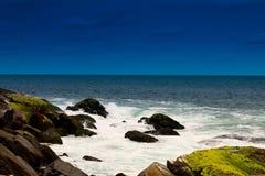 Kovalam plaża Zdjęcie Stock