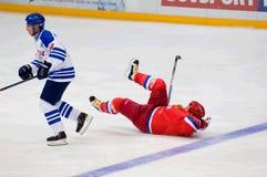 A Kovalenko (51) cai para baixo Imagens de Stock Royalty Free