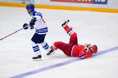 A. Kovalenko (51) fall down Royalty Free Stock Photos