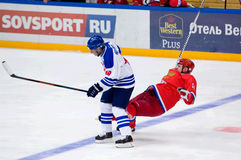 A. Kovalenko (51) fall down Stock Photography