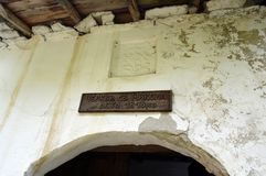 Kovatchevitca dorp-Museum, Kerk Royalty-vrije Stock Foto's