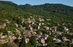 Kovatchevitsa村庄在保加利亚 免版税图库摄影