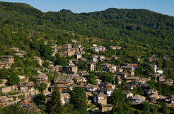 Kovatchevitsa wioska w Bułgaria Fotografia Royalty Free