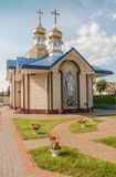 KOVEL, ΟΥΚΡΑΝΊΑ: Εκκλησία του ST Sergius Radonezh κοντά στο railw στοκ φωτογραφίες με δικαίωμα ελεύθερης χρήσης