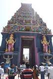 Kovil hindú en Nagadeepa, Jaffna, Sri Lanka Foto de archivo