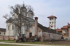 Kovilj kloster i detaljer Fotografering för Bildbyråer