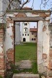 Kovilj kloster i detaljer Arkivbild