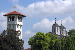 Kovilj orthodox monastery Serbia Stock Photography