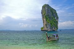 Kow Ta Bho ö Thailand royaltyfri foto