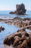 Łękowata skała Zdjęcie Royalty Free