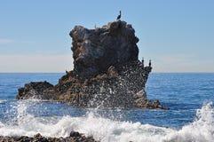 Łękowata skała Fotografia Royalty Free