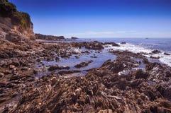 Łękowata skała Fotografia Stock