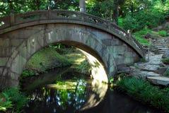 Łękowaty most Fotografia Stock