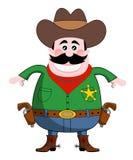kowboj royalty ilustracja