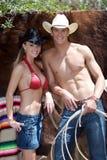 Kowboj Americana obrazy royalty free