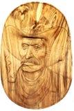 Kowboj kierownicza statua Zdjęcia Stock
