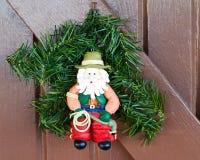 Kowboj Santa Fotografia Royalty Free