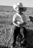 kowboj smutny Zdjęcia Stock