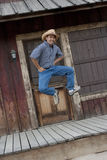 kowboj szczęśliwy zdjęcie stock