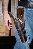 kowboja pistolet Obraz Royalty Free